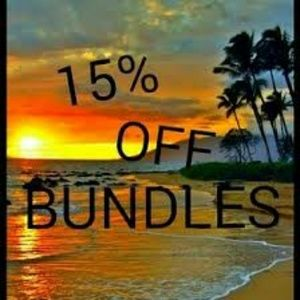 15% off Bundles of 2 or more