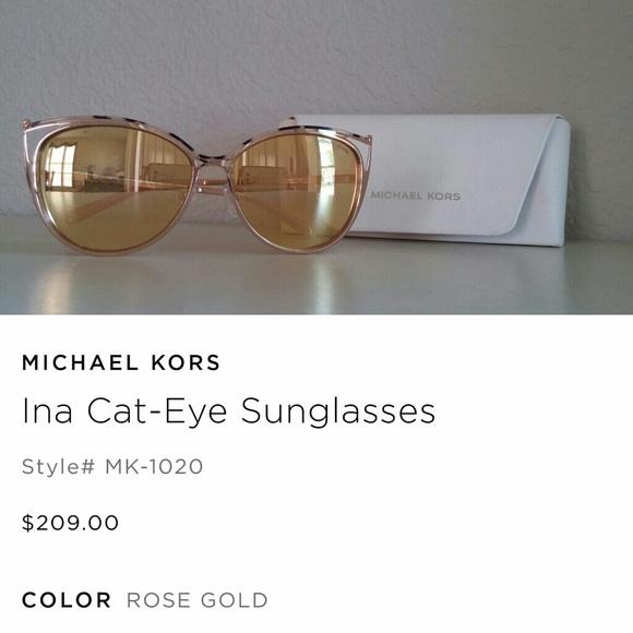 629ccf23b13fe Michael Kors MK 1020 Cat-Eye Sunglasses