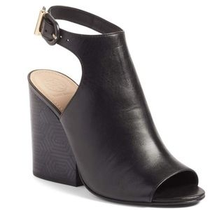 Tory Burch peep toe sandals