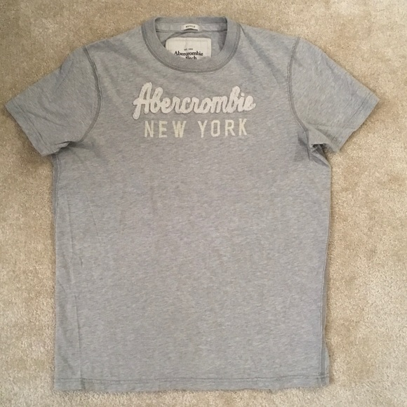 5c4287f4 Abercrombie & Fitch Other - Grey men's Abercrombie & Fitch muscle t-shirt