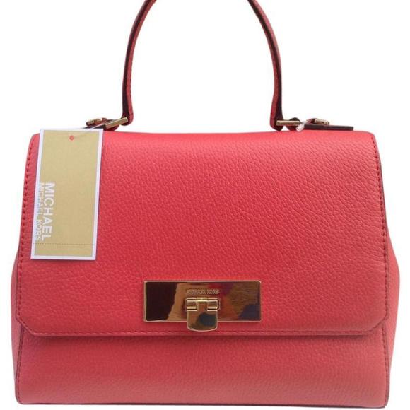 125022600edd Michael Kors Bags | New Callie Watermelon Satchel | Poshmark