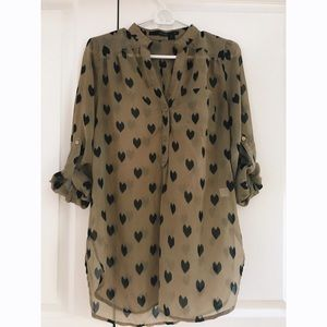 Sweet hearts tunic from Modcloth