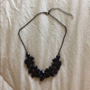 Jewelry - Navy Blue statement necklace