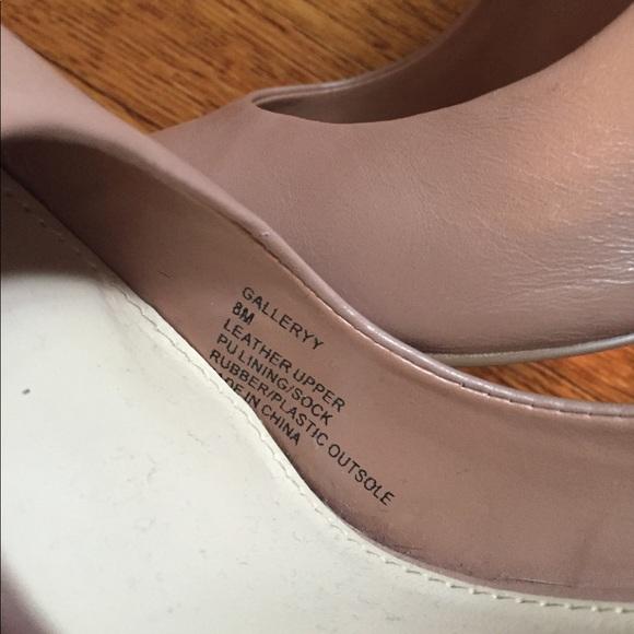 Steve Madden Shoes - Steve Madden Nude Leather Pumps