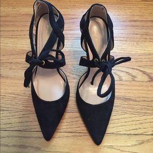 Shoe Republic LA Shoes - Black Lace Up Pumps