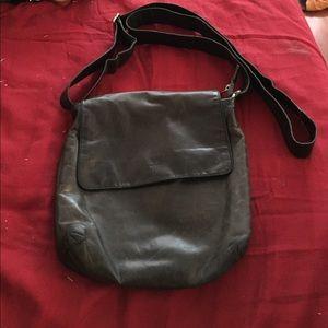Handbags - Genuine leather black crossbody