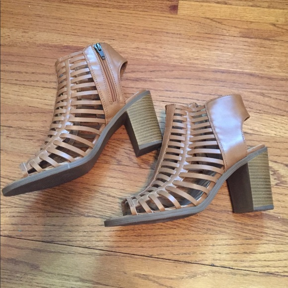 Mossimo Supply Co Shoes - Caged heeled sandals
