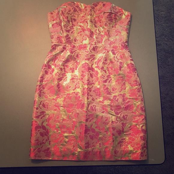 91c2daa06d4103 Lilly Pulitzer Dresses | Raya Gold Pirates Bootyniere Dress | Poshmark