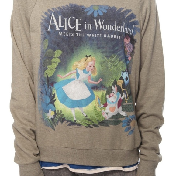 Disney Sweaters S Alice In Wonderland Sweater Poshmark