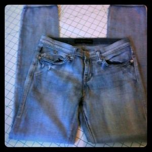 Rock & Republic Distressed Skinny Jeans 6 M Berlin