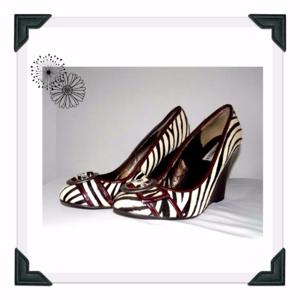 Steve Madden Wedges 8.5 Zebra Heels Zebra Shoes