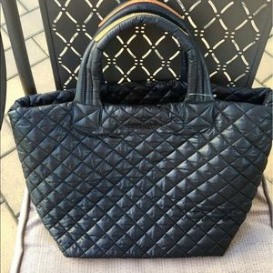 MZ Wallace quilted metro tote!
