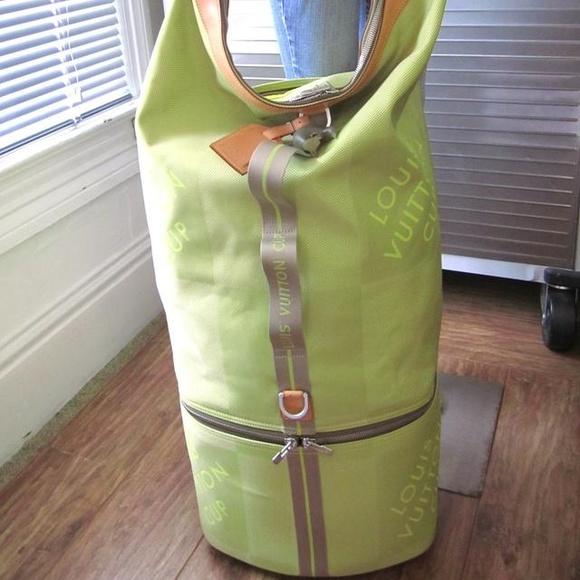 e12effe8f34 Louis Vuitton Handbags - Louis Vuitton Damier Geant Travel Trolley LV Cup