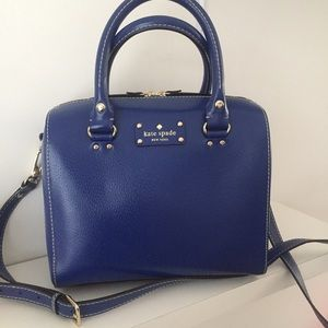 Kate Spade Wellesley Alessa Blue Bag