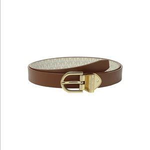 Michael Kors Brown Reversible Belt (size m)