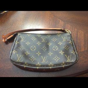 Authentic Louis Vuitton mini bag.