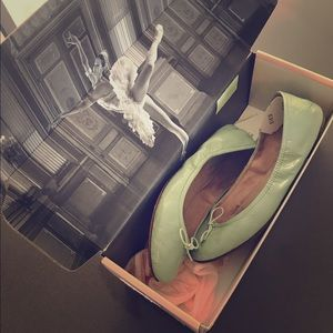 Bloch Mint Green Flats.
