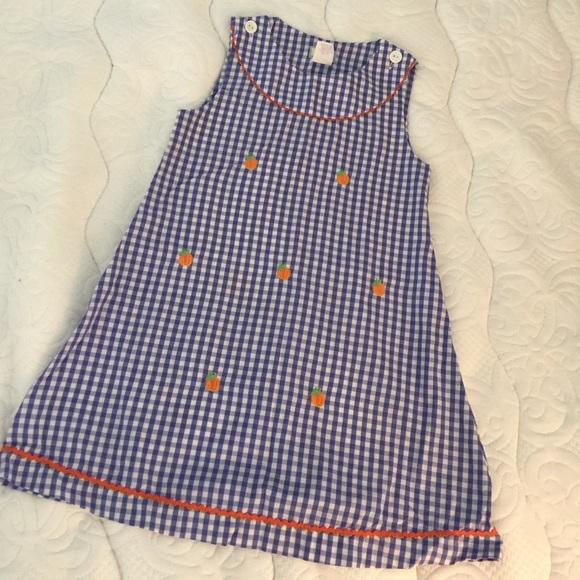 31fb469031 k l Other - Pumpkin 🎃 appliqué smocked jumper Vive La Fete