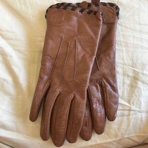 Ralph Lauren leather gloves