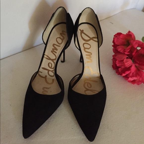 0af77e1a6 Sam Edelman Shoes - Practically new Sam Edelman suede pointed heels 👠