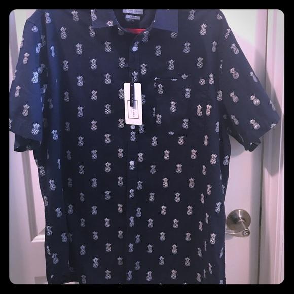 Cactus Man Shirts Nwt Ricky Singh Pineapple Shirt Poshmark