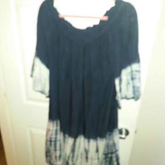 f65fb914881 La Moda Dresses   Skirts - Ladies Navy   white boho summer dress. 3X