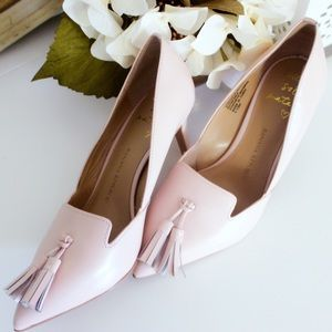Blush Pink Pointed Toe Heels