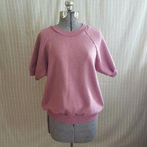 Vintage Pink Heathered Sweatshirt