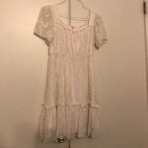 Cute cream lace dress