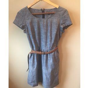 Gap Chambray Dress with Pockets