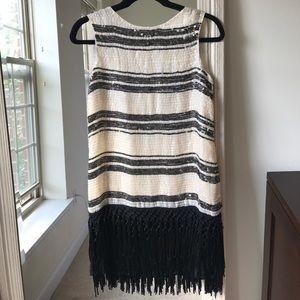 ZARA sequin dress with fringe (XS) ✨