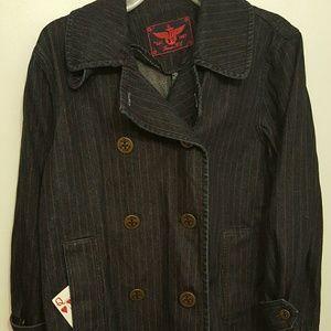 NWOT Ralph Lauren Denim Sailor Jacket