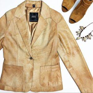 Reilly Olmes Leather Blazer