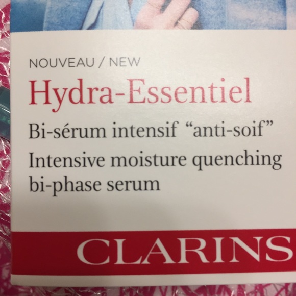 clarins hydra essentiel serum how to use