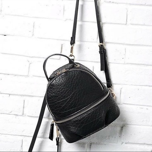 Zara Handbags - ZARA CONVERTIBLE BACKPACK W/ CHAIN STRAP