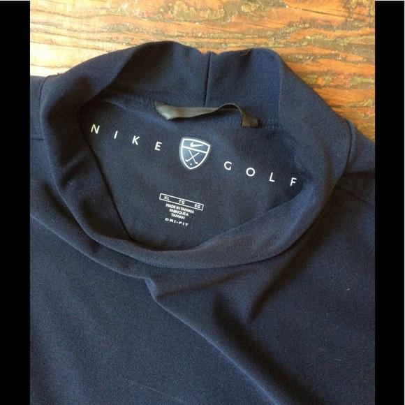 c61cf653 Nike golf short sleeve mock turtleneck navy. M_596bcecd981829e4aa0186fc
