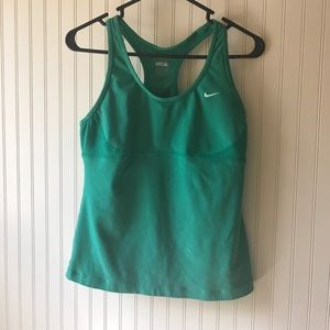 Fitted Nike Workout Top