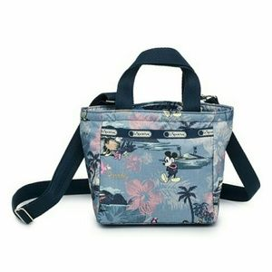 ❌SOLD❌ LeSportsac Mickey Mouse Crossbody Tote Bag