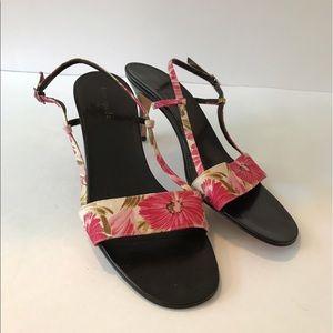 Kate Spade Floral Sandals Size 9