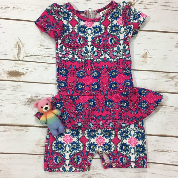 6b3ca79a1489 LuLaRoe Other - Dot Dot Smile Romper 6 12 mos.