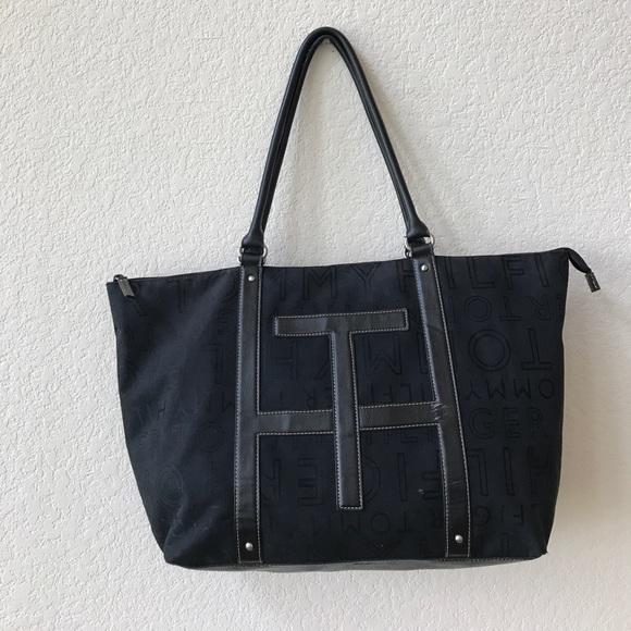 Authentic Tommy Hilfiger XL tote bag. M 596bd4b84127d0fc3101a2cf 863e392b0eecf