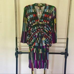 BCBGMAXAZRIA Multicolored Dress Sz. XS