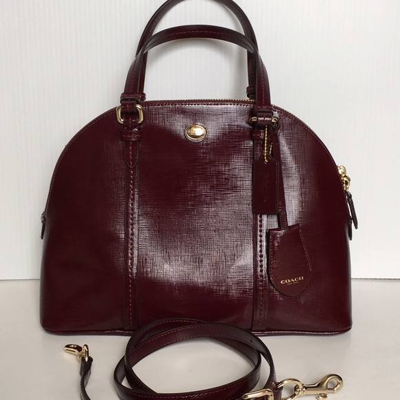 Coach Bags   Nwt Large Domed Leather Satchel   Poshmark e6dbadefd5