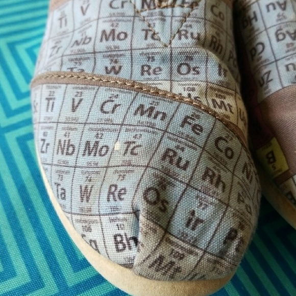Periodic Table Toms Size 755 Off Toms Shoes Toms The Periodic Table