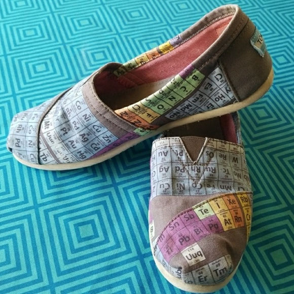 Toms Shoes Periodic Table Women S