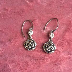 Fossil brand Rose earrings