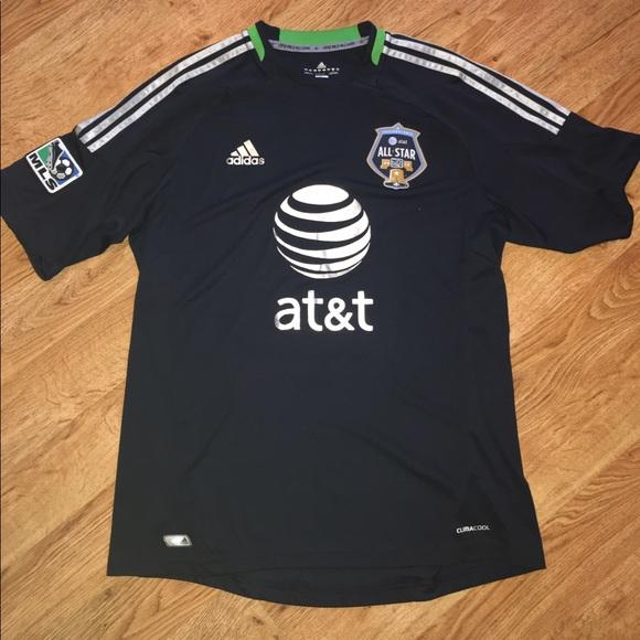 8a9cdcf5bc5 Adidas 2012 MLS All Star Jersey sz L. M 596bdaa6ea3f36014b01c44c