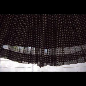 Madewell pleated skirt