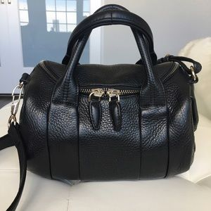 Alexander Wang Rockie bag with pale gold studs