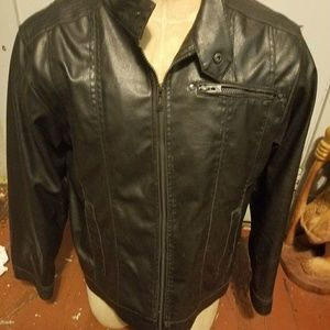 Point Zero Jackets & Coats - Point zero leather jacket